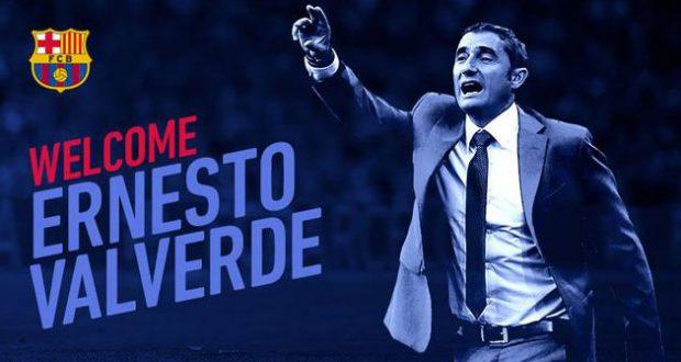 Эрнесто Вальверде - новый тренер Барселоны
