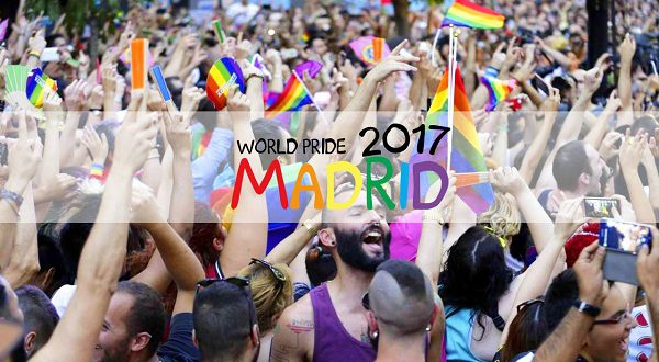 Гей-парад World Pride Madrid 2017 создал явный дефицит жилья, сдаваемого в наем