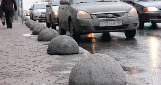 бетонный надолб
