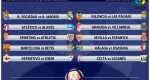 Новый календарь Ла Лиги Испании 2017-2018