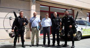 Этой осенью на службу в полицию Марбельи поступят два параплана