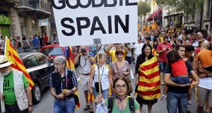 В Каталонии идет агитация, несмотря на запреты и уменьшение сторонников независимости