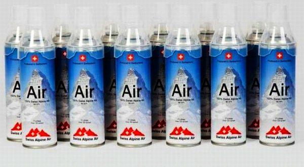 В Италии начали продавать альпийский воздух