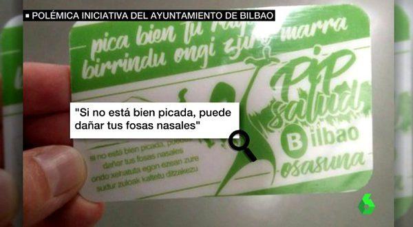 Властям Бильбао пришлось спешно свернуть «кокаиновую» рекламную кампанию.