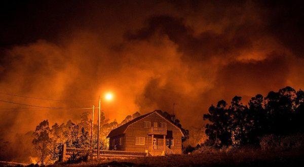 Галисия и Астурия охвачены пожарами