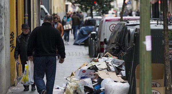 Сборщики мусора Мадрида объявили о начале бессрочной забастовки