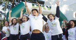 Акция «Escuelas de la Milla» - школьники против ожирения