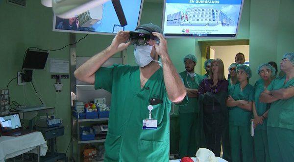 Мадридские врачи используют дополненную реальность