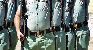Порядка 6% бойцов Испанского легиона нуждаются в диете