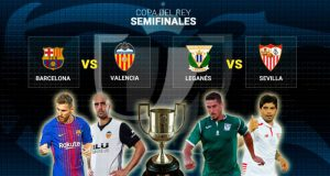 Жеребьевка полуфиналов Кубка Испании 2017-18