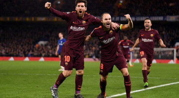 Барселона играет в результативную ничью на Стемфорд Бридж