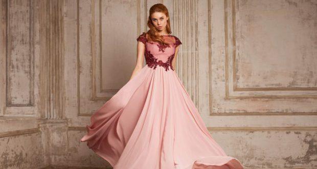 Длинные вечерние платье