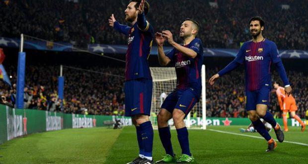 Барселона громит Челси на Камп Ноу