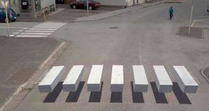 В Испании появился первый 3D-переход для пешеходов