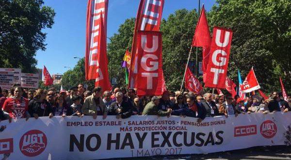 В Испании прошли традиционные майские манифестации