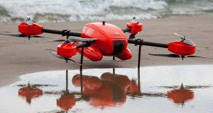 Тонущим на помощь придет дрон Auxdron Lifeguard