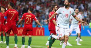 Боевая ничья Испании и Португалии