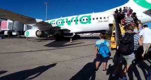 Пассажирский борт совершил незапланированную посадку по «медицинским причинам»