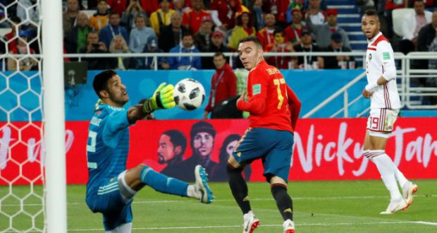 Испания чудом занимает первое место в группе и в 1/8 сыграет с Россией!