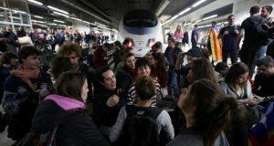 Сотрудники метро Барселоны выступили с протестом