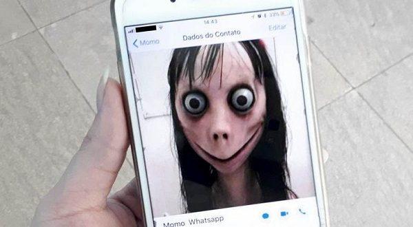 Ночью к пользователям WhatsApp приходит Момо!