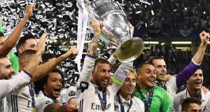 Лучшими футболистами в прошлогодней Лиге Чемпионов стали игроки Реал Мадрид