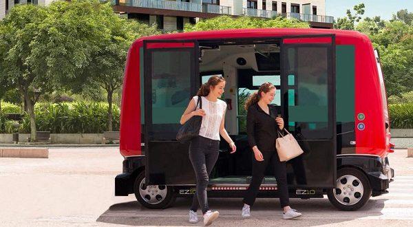 В Каталонии запустят беспилотный автобус
