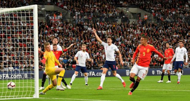 Испания начинает с победы над Англией в Лиге Наций