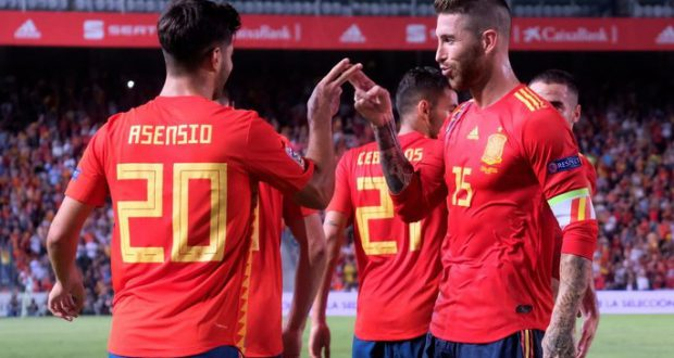 Испания поиздевалась над Хорватией