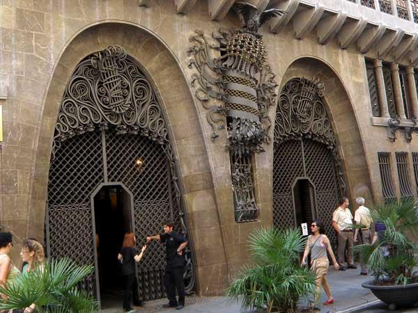 Дворец Гуэля в Барселоне