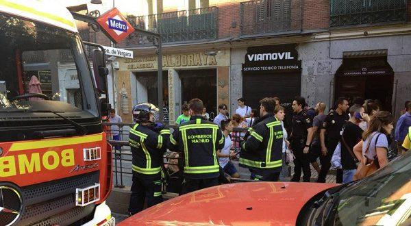 Взорвавшийся в метро ноутбук стал причиной остановки движения