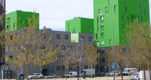 Юг Мадрида превратился в гигантскую стройку