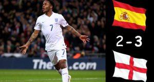 Испания неожиданно уступила Англии