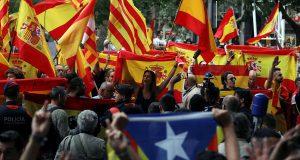 В столице Каталонии зафиксирована массовая стычка полиции и сепаратистов