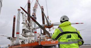 Iberdrolaпоставила наБалтике 70 мощных ветрогенераторов