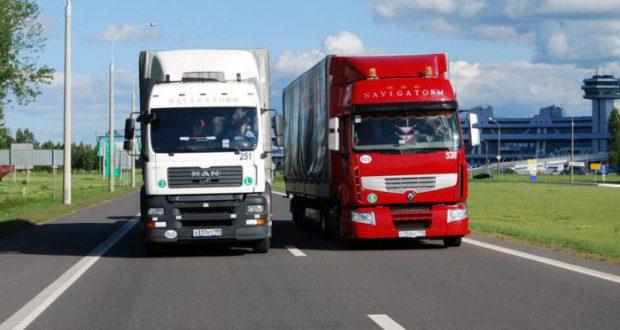 Движение в Барселоне былосковано«медленным маршем»грузовых авто