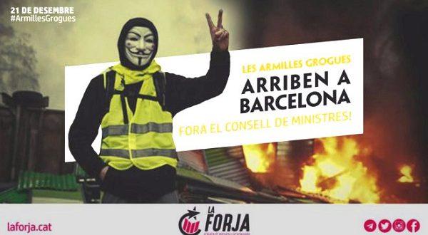 Сепаратисты планируют новую акцию в Барселоне