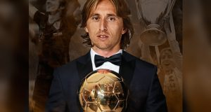 Лука Модрич - обладатель Золотого Мяча 2018