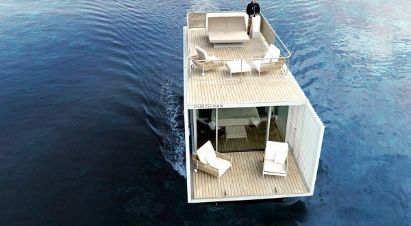 В Испании появился отель на воде