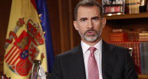 Король Испании обратился к подданным