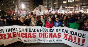 В Галисии люди вышли на улицы, возмущенные нерадивостью врачей