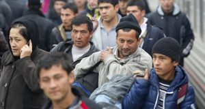 Мигранты едут в Испанию в… матрасах!